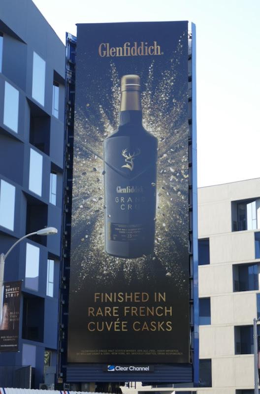 Glenfiddich Grand Cru billboard