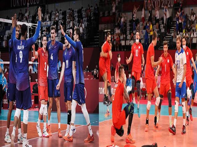 Jadwal dan Link Streaming FINAL Olimpiade Bola Voli Putra : Prancis Vs ROC 19.15 WIB