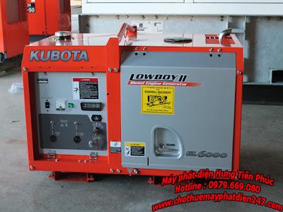 Kubota 5.5kva GL-6000