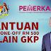 Bantuan Khas APAD : Bayaran One-Off RM 500