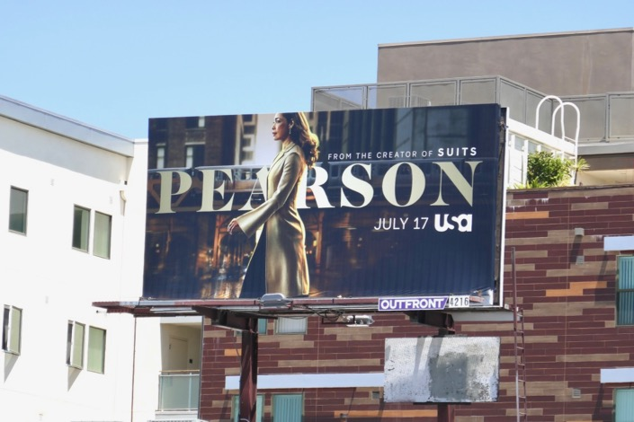 Pearson series launch billboard