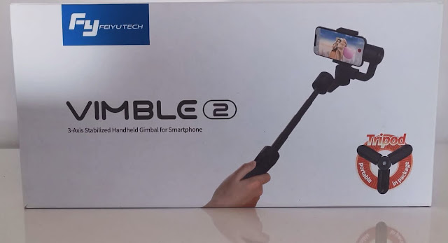 فتح صندوق و مراجعة feiyutech vimble 2 stabilizer مع المميزات والخصائص أفضل مثبت كاميرا تصوير إحترافي