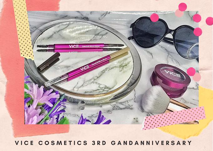 Vice Cosmetics 3rd GANDAnniversary   Buy 3 for 300 at Shopee