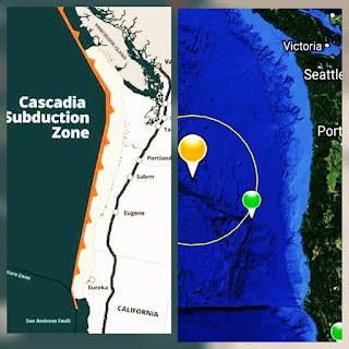 ULTIMA HORA: sismo en las costaa de oregon.