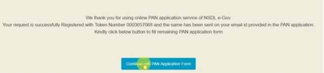 How to apply PAN card online