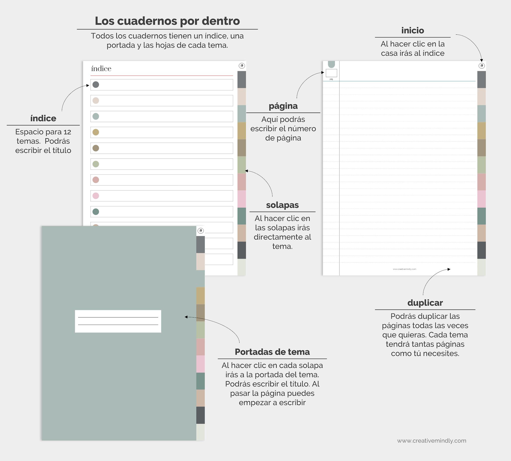 cuaderno de notas digital ipad goodnotes