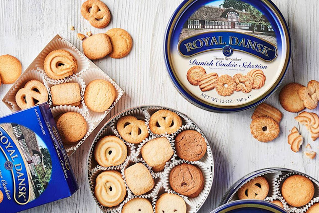 Danish Butter Cookies, the Right Cake to Accompany Time Relax