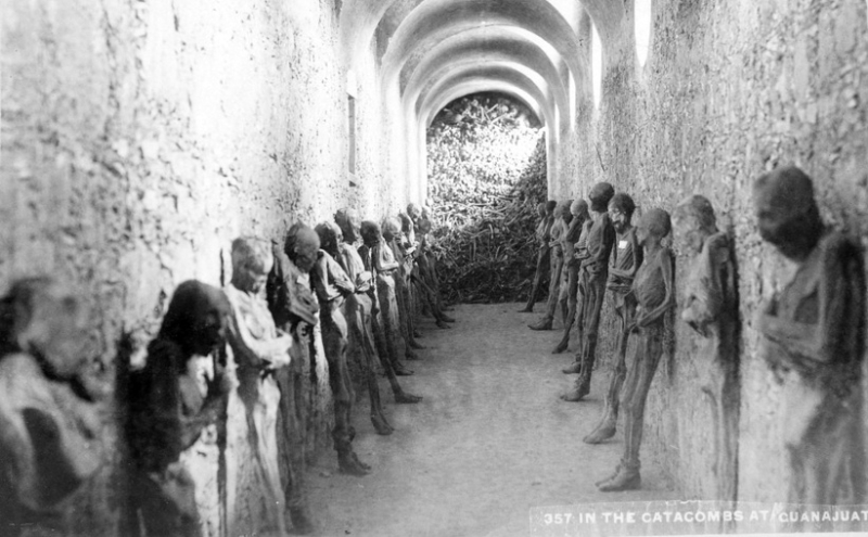 Inside the Gruesome Mummies of Guanajuato in the 1950s