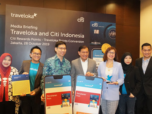 Kerjasama Citibank dan Traveloka