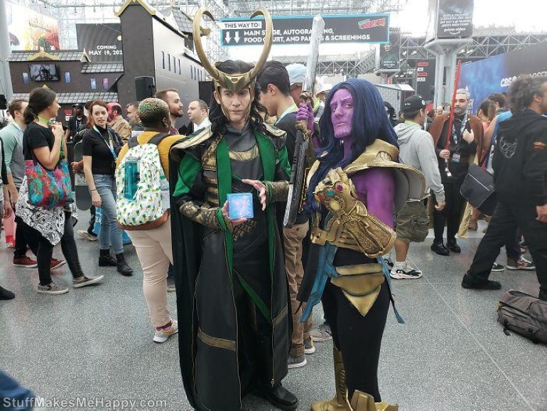 Loki and Thanos