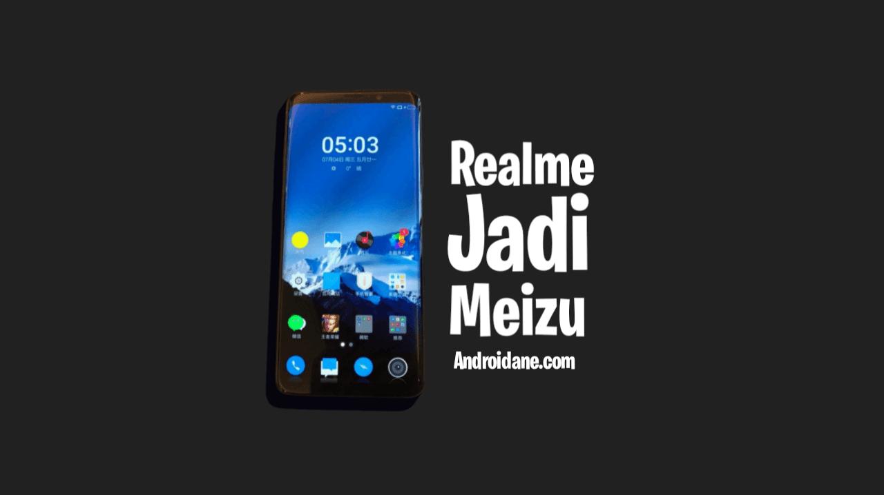 Cara Mengubah Tampilan Realme menjadi Meizu