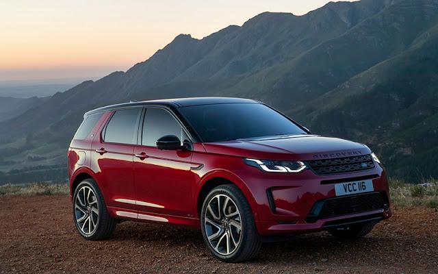 Land Rover Discovery trang bị nhiều tiện ích công nghệ trên xe