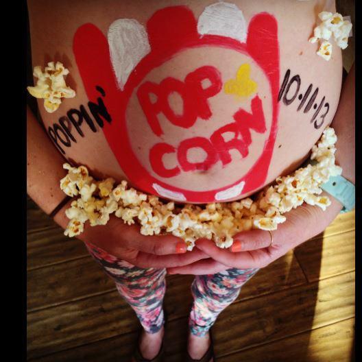 Pregnancy Belly Art,