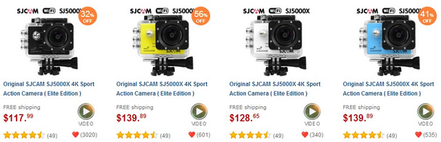 More Ultra HD 4K Sport Action Camera Special Edition