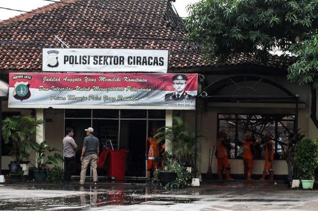 Soal Dugaan Anggota TNI Bakar Polsek Ciracas, Begini Kata Polri