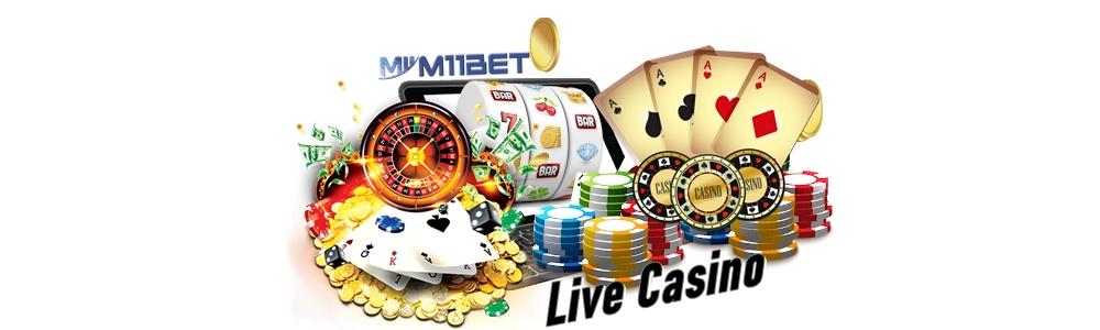 Judi Live Casino M11bet