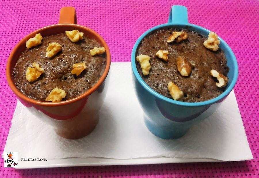 Brownies en tazas