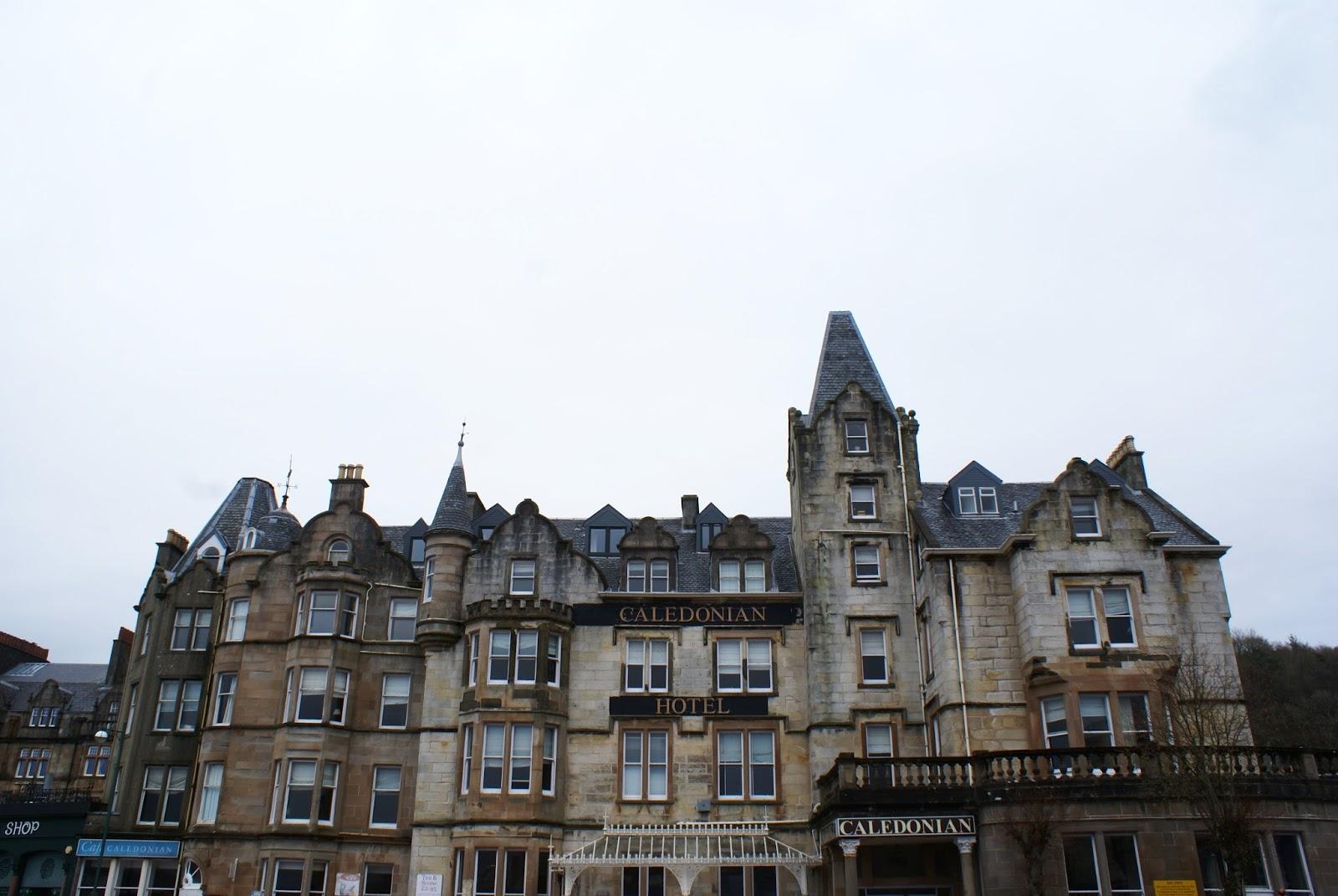 caledonian hotel oban argyll highlands scotland uk great britain camomille blend
