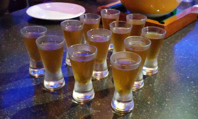 Cinnamon Whisky Shots