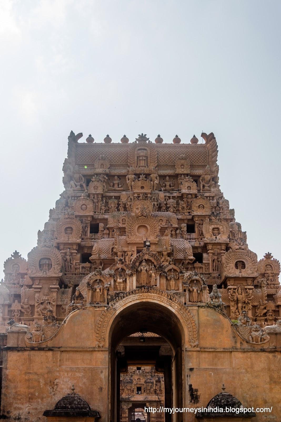 Thanjavur Brihadeeswarar Temple Entrance