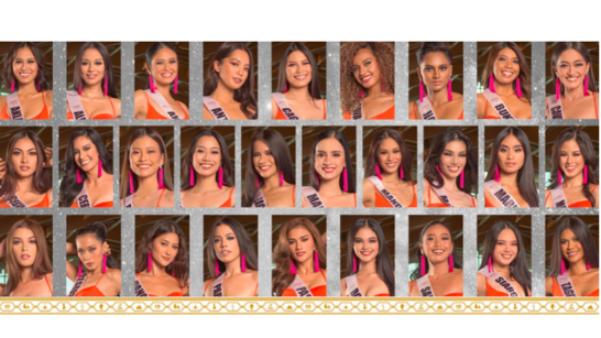 LOOK: The final candidates for Miss Universe Philippines 2021