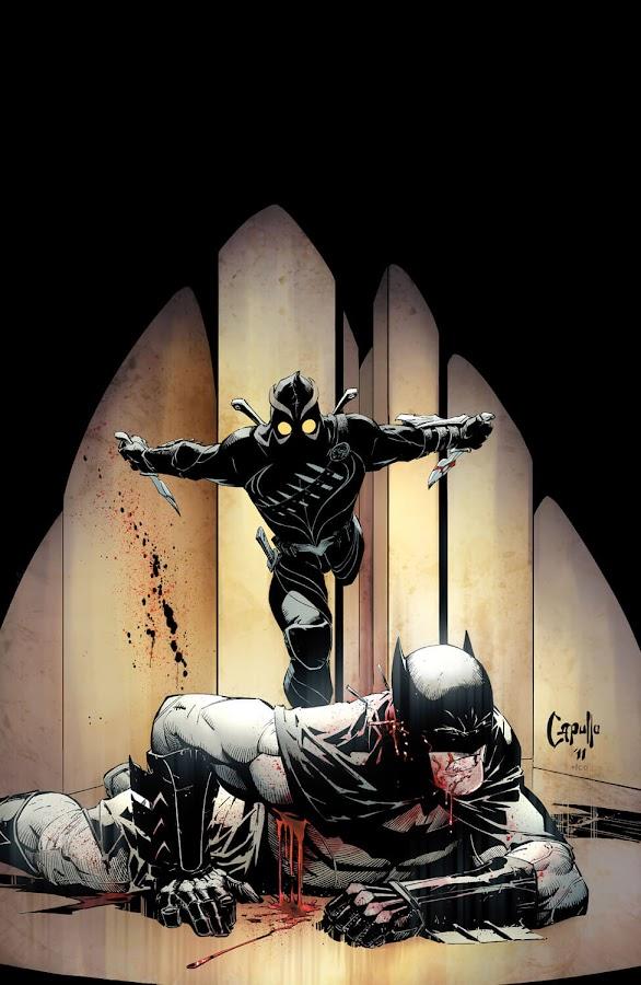 batman vs talon court of owls dc comics new 52 scott snyder greg capullo