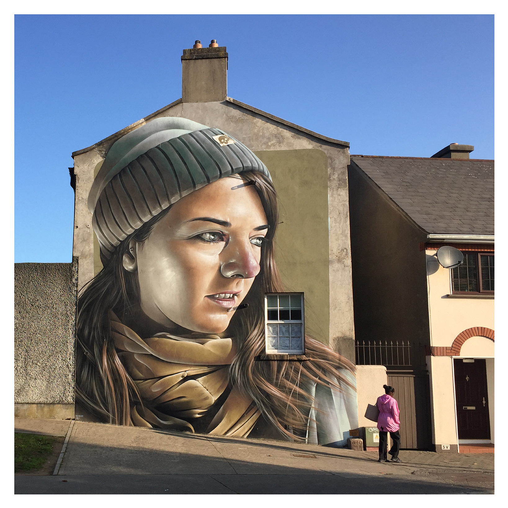 Street Artists transform Waterford City, mural by artist Smug.