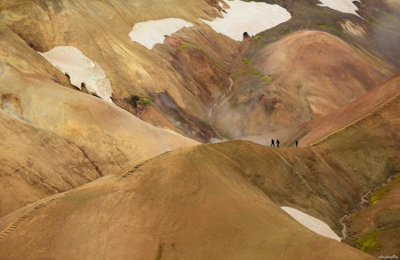 Islandia - Góry Kerlingarfjoll.