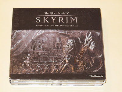 Photo of Skyrim Soundtrack physical version