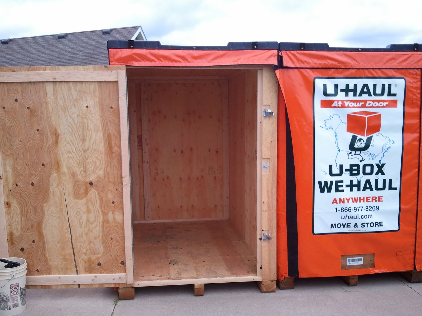 West Michigan Self Storage U Haul U Box Dimensions
