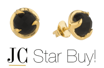 Black Onyx Stud Earrings Missoma
