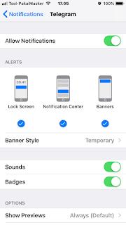 Langkah Cara Menghilangkan Notifikasi di iPhone dan iPad