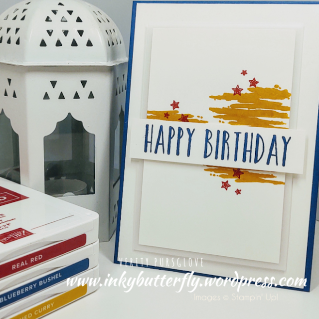 Perennial Birthday Label Me Bold Stampin Up