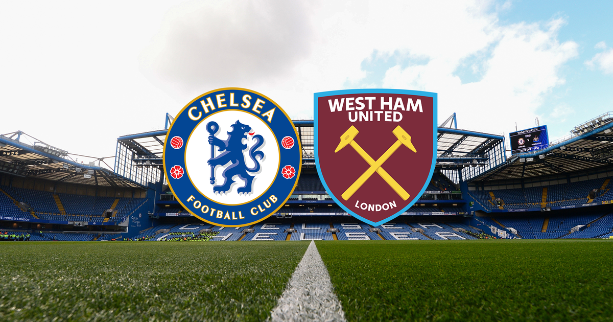 What TV channel is the Chelsea vs West Ham Premier League game on?