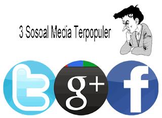 3 Media Sosial Terpopuler