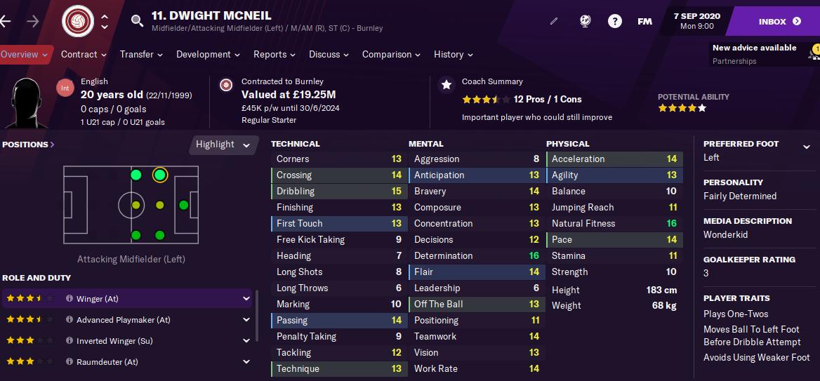 FM21 Dwight McNeil