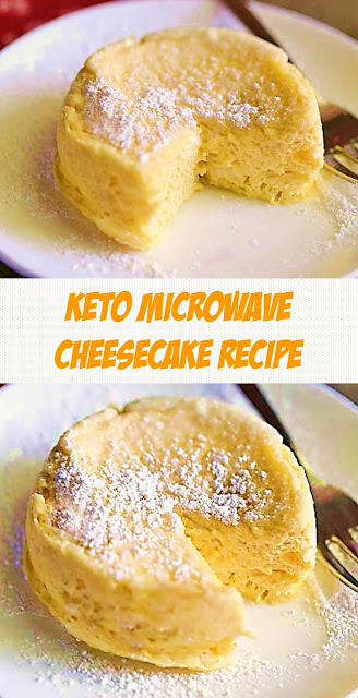 Keto Microwave Cheesecake Recipe