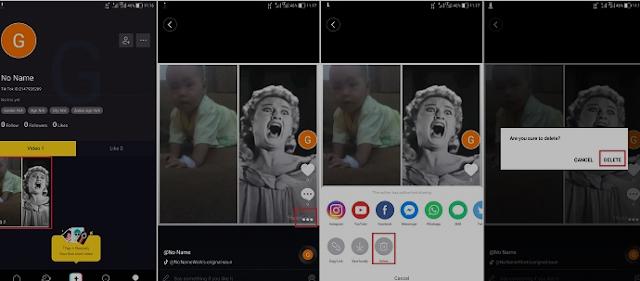 Cara Menghapus Video Yang Sudah Diupload di Tik Tok 2
