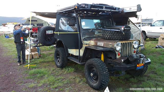 4.3-liter Chevrolet V-6-powered Jeep CJ