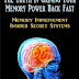 The Truth In Gaining Your Memory Power Back Fast