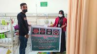 Gandeng HMI MPO Bireuen, Komunitas Aneuk Rantau Atjeh Malaya Bantu Balita Gizi Buruk