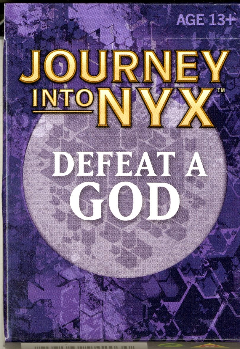 Magic The Gathering Journey Into Nyx Defeat A God 2014 Initgames