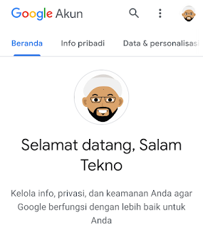 cara masuk akun google selesai