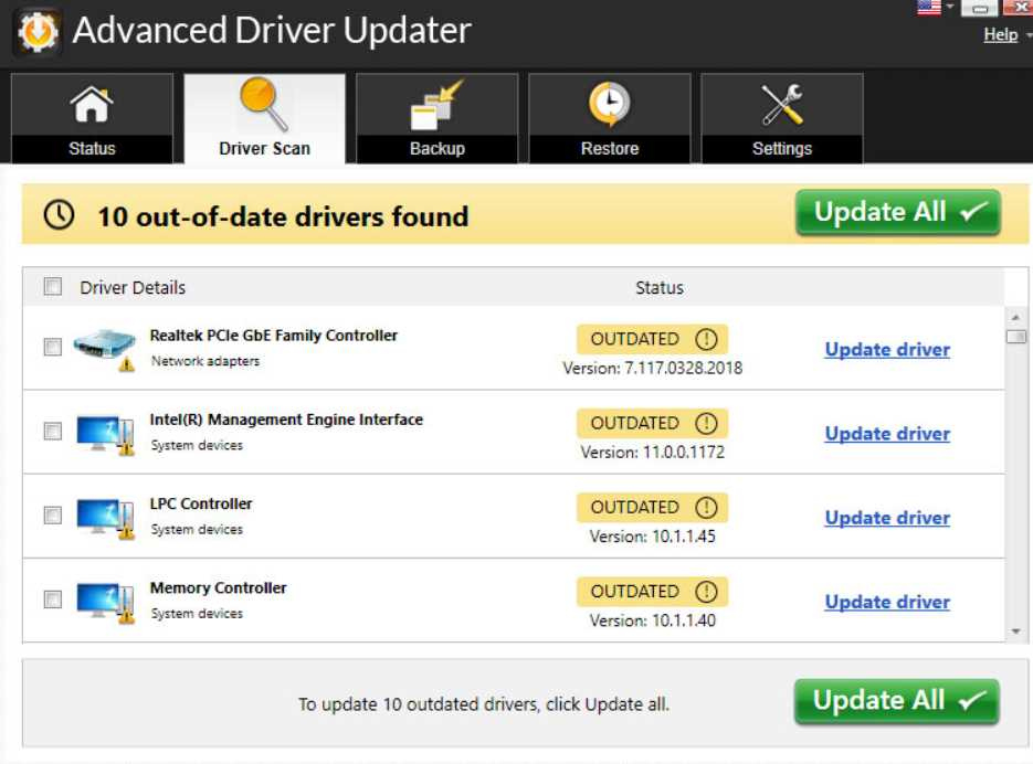 SysTweak Advanced Driver Updater 4.5.1086.17940