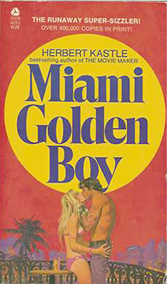 1971 Avon paperback edition of Herbert Kastle's MIAMI GOLDEN BOY.