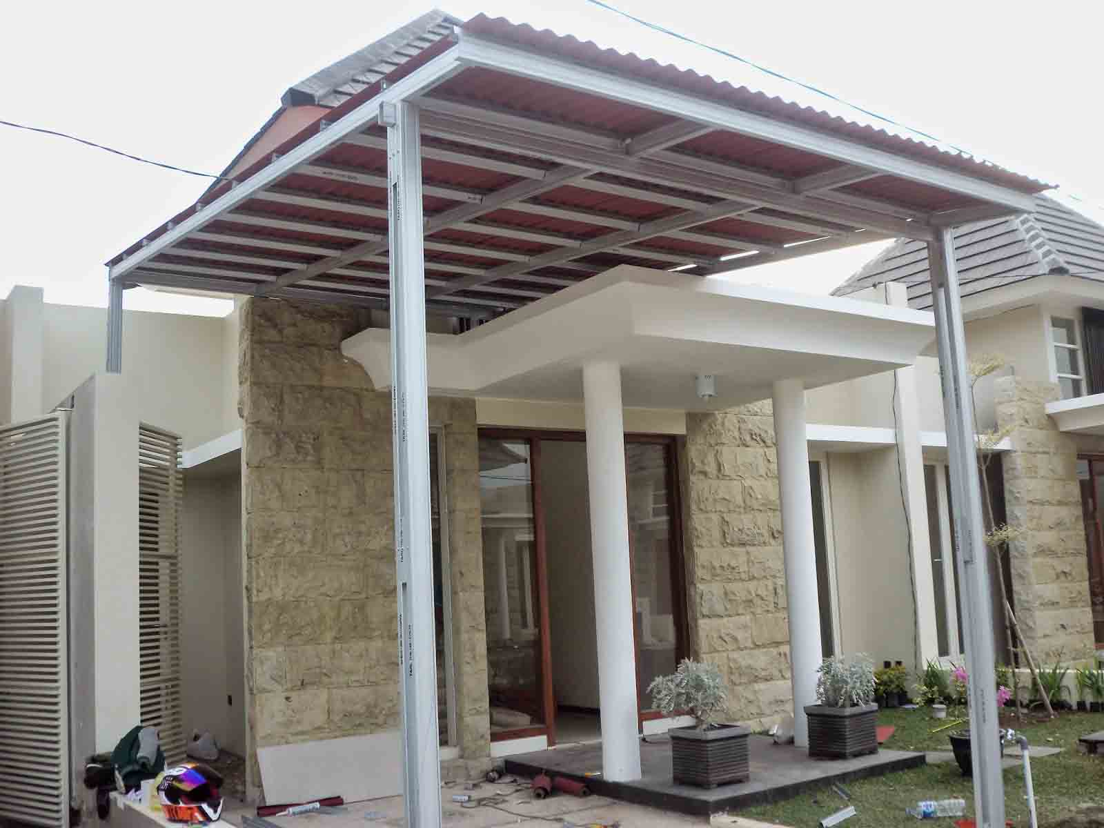 Rancangan Denah Atap Rumah Baja Ringan | Denahose