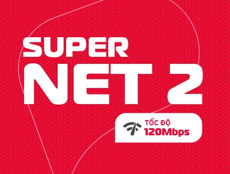 Internet cáp quang Viettel gói Supper NET2