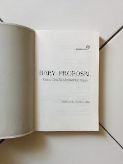 Baby Proposal: Karena Cinta Tak Membutuhkan Alasan