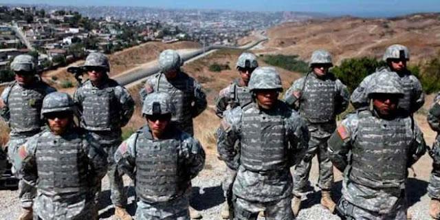 Era Federal prefiero despachar Pizzas que pertenecer a La Guardia Nacional, son Militares disfrazados de Policías están entrenados para usar la fuerza letal