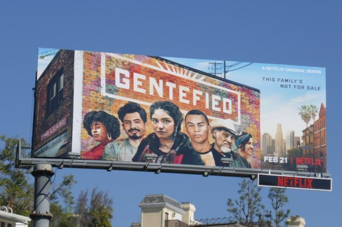 Gentefied series premiere billboard